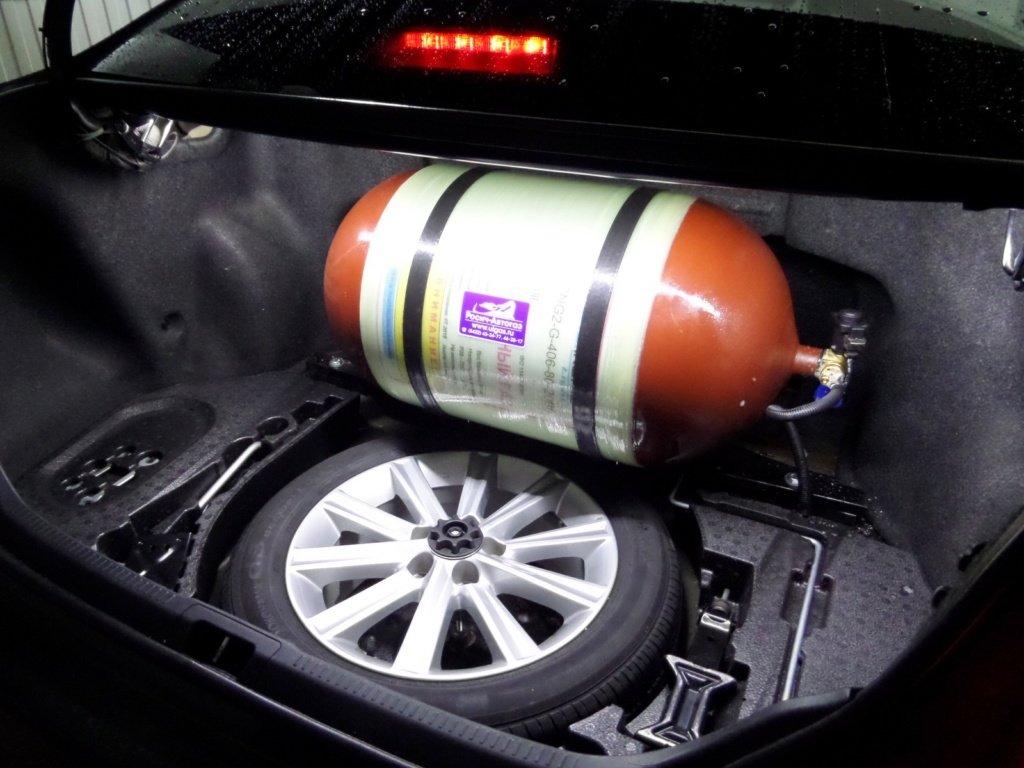 Автомобильная газовая установка