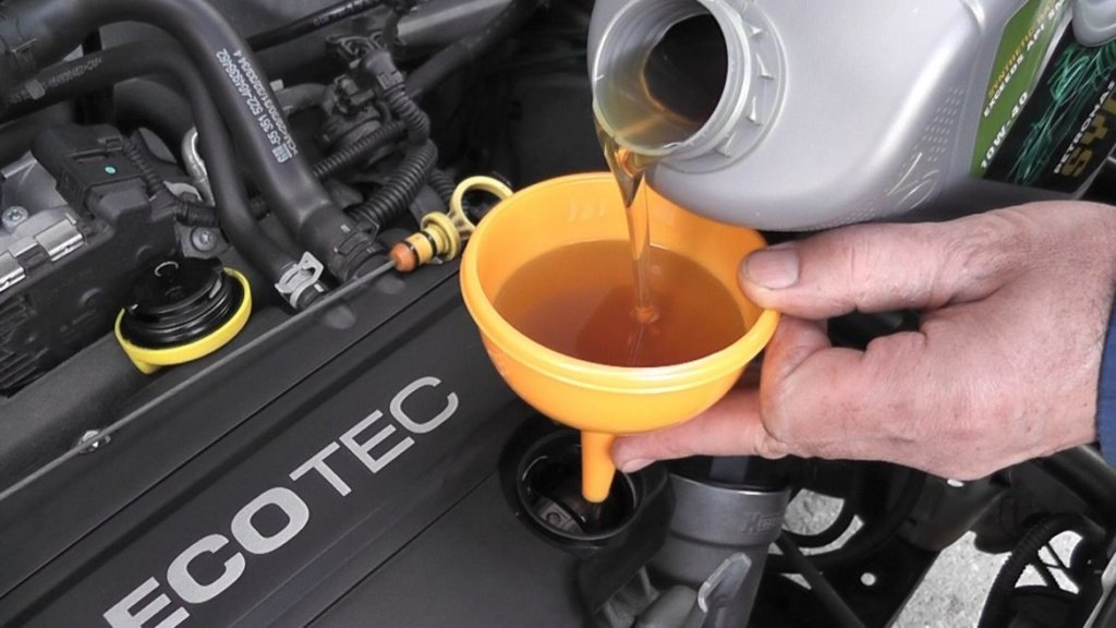 про моторное масло